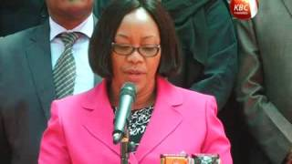 Union of Kenya civil service nurses call on gov't for security