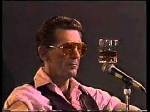 Jerry Lee Lewis   18 04 85   Barcelona Radio Broadcast & Telecast