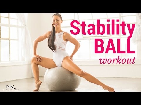 Stability Ball Entire Body Workout