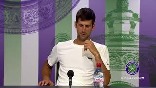 Novak Djokovic 3R Press Conference