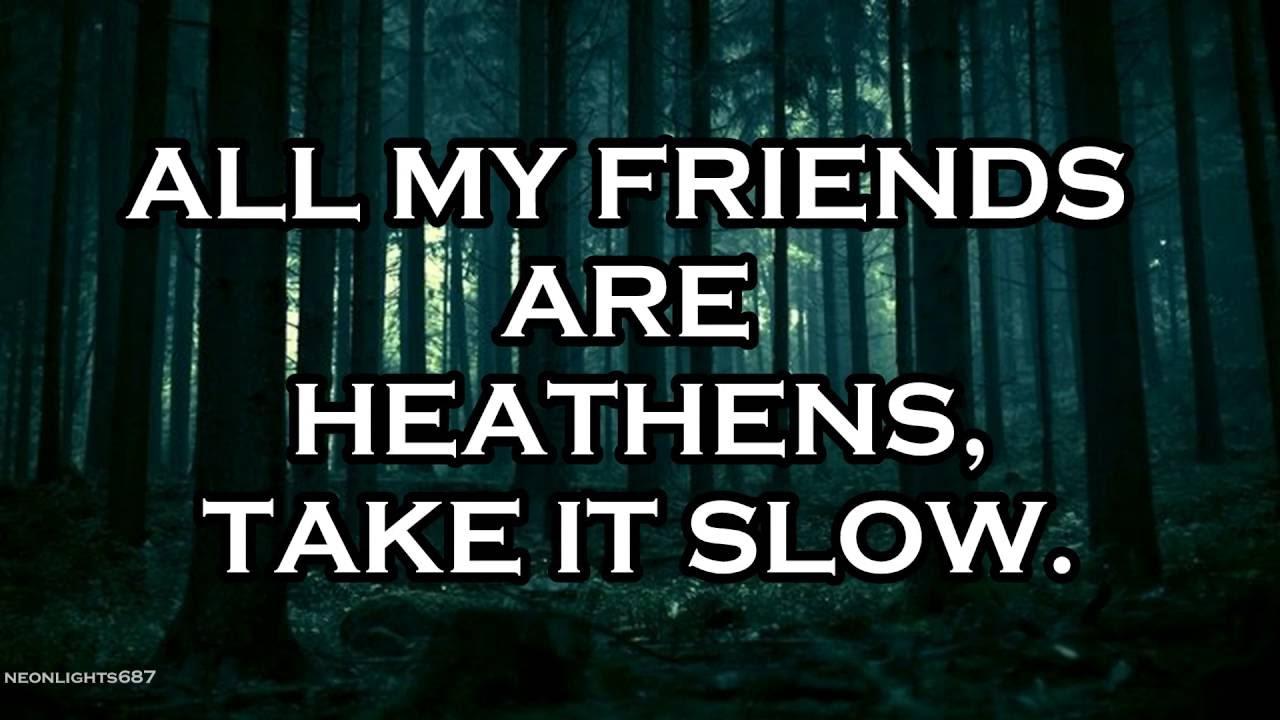 Twenty One Pilots Lyrics heathens - twenty one pilots - lyrics - youtube