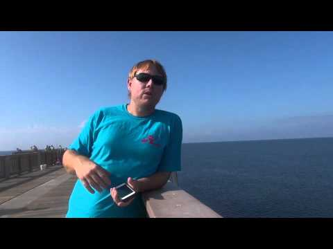 Panama city beach fall fishing challeng pier vs pier youtube for Panama city beach pier fishing report