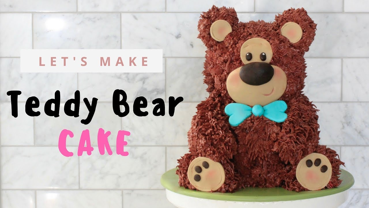 Teddy Bear Cake Tutorial Youtube