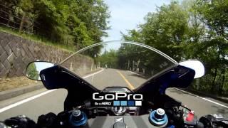 奥多摩周遊道路 ツーリング CBR600RR GoPro HD 1/2