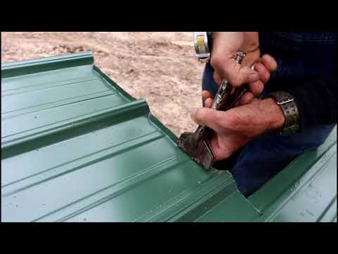 Metal Roof Installation | Off Grid Cabin Build | Episode 9