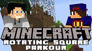I Się Zaczęło Dziobanie  Minecraft Rotatnig Square Parkour [1/3] w/ GamerSpace