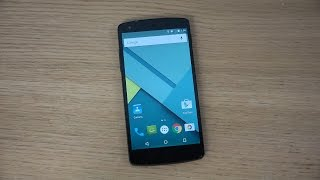 Nexus 5 - Android 50 Lollipop Screen Pinning Android App Lock Review