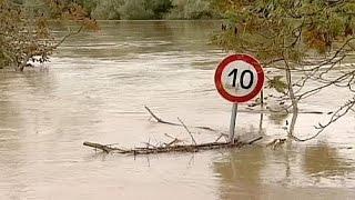 Severe floods hit Croatia - no comment