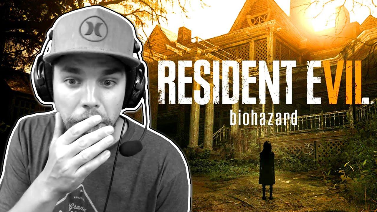 un vrai jeu d 39 horreur qui fait peur resident evil 7 youtube. Black Bedroom Furniture Sets. Home Design Ideas