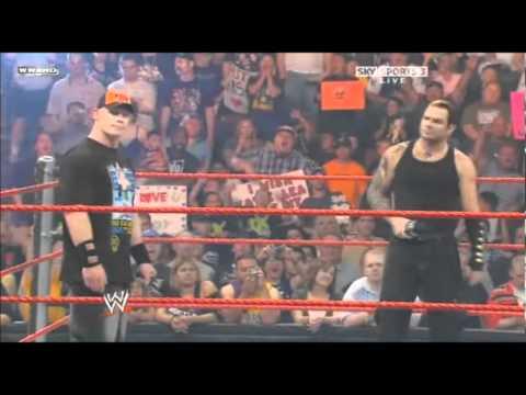 John Cena Confronts Triple H & Jeff Hardy