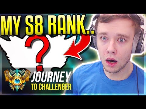 DONE PLACEMENTS! THIS IS THE RANK I START IN?.. - Journey To Challenger | League of Legends