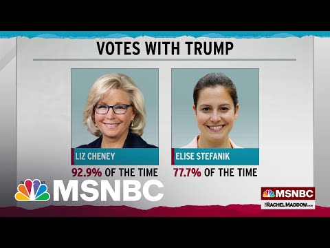 Liz Cheney More Aligned With Trump Than Her Potential Replacement