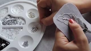 МК Перо ч.2 | вышивка бисером | для начинающих
