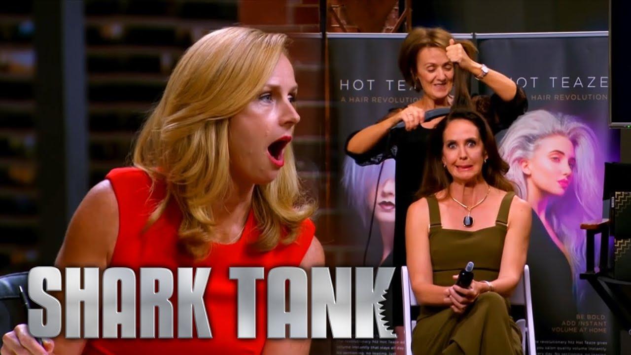 Hairdresser's Cheeky $10M Valuation Infuriates Sharks | Shark Tank AUS