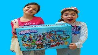 Masal and Öykü Transformers BotBots surprise box - Fun Kids Video