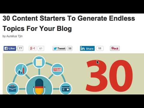 How To Add Social Share Buttons To Your Wordpress Blog - Social Media Authority Marketing