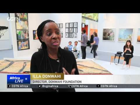 Art fair in Paris showcases African talent