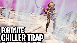 *CHILLER TRAP* CURLING MINIGAME!  - Fortnite: Battle Royale Playground (Nederlands)