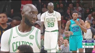 Download Tacko Fall Shocks Celtics Crowd In 2019 NBA Preseason Debut! Celtics vs Hornets Mp3 and Videos