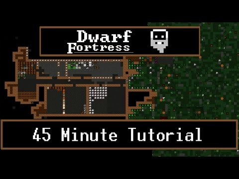 Dwarf Fortress Tutorial - (How to Play / Starting Guide 0.42 - 2016)