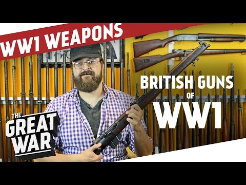 British Weapons of World War 1 feat. C&Rsenal I THE GREAT WAR Live Stream