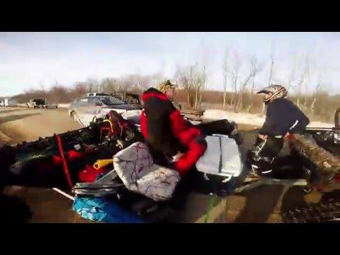 Ice Fishing Lake Winnipeg : 2016