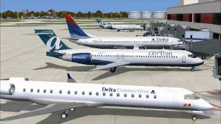 FSX ULTIMATE TRAFFIC II SCENES