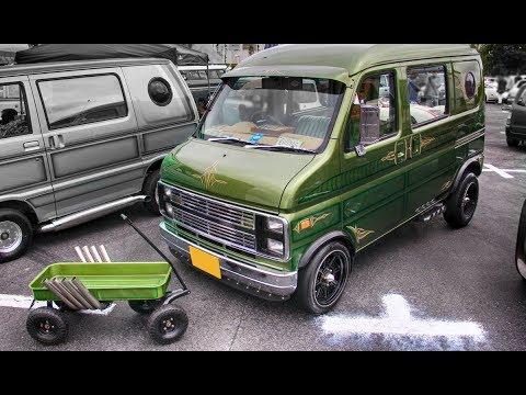 HONDA Vamos Full Size Van Style Custom Car