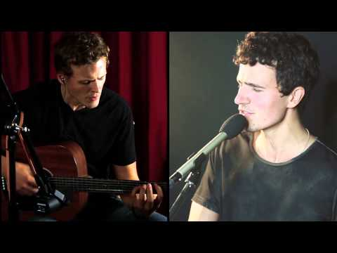 """Clarity"" Zedd acoustic cover-Todd Pritchard and Alex Cornell"