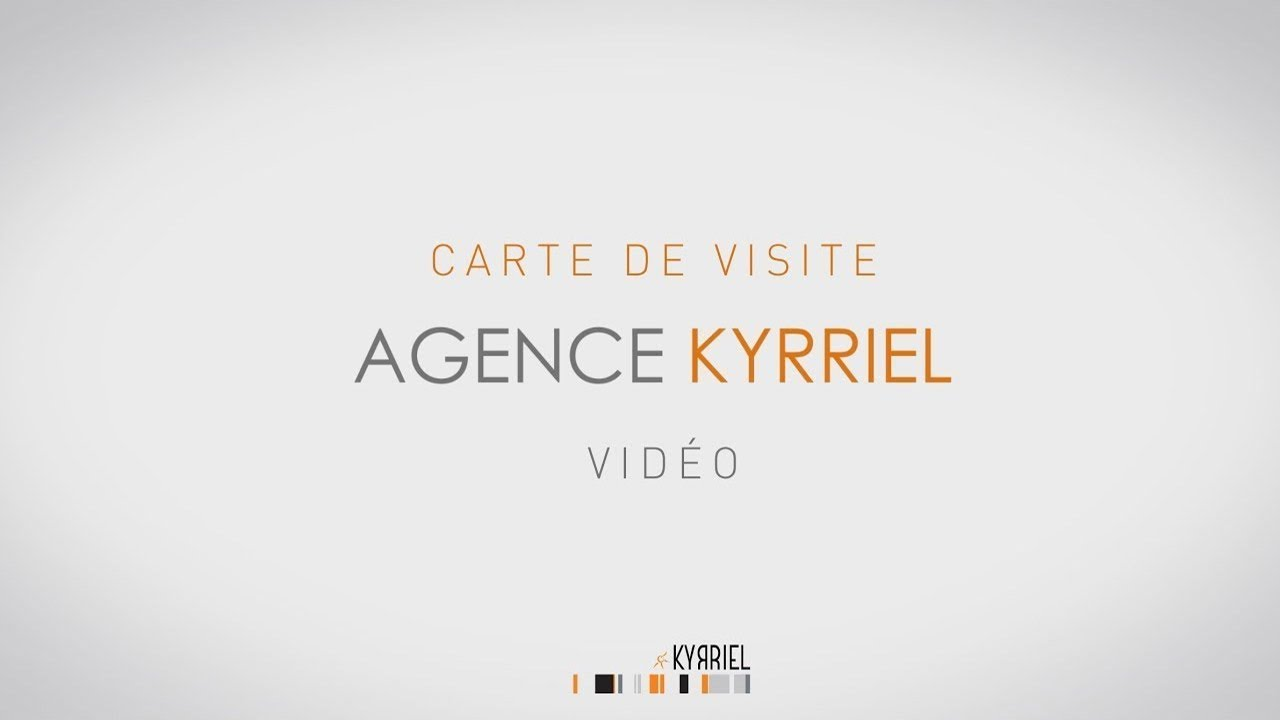 CARTE DE VISITE VIDEO KYRRIEL