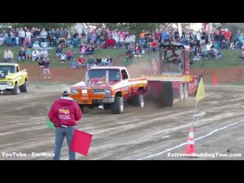 TTPA Truck Pull Competition At St Clair 4H Fair 2014