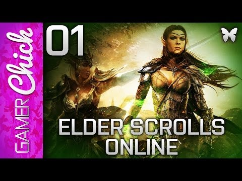❤ Elder Scrolls Online (ESO) - Gameplay/Lets Play [Part 1 Soul Shriven] (PC) w/ GamerChick