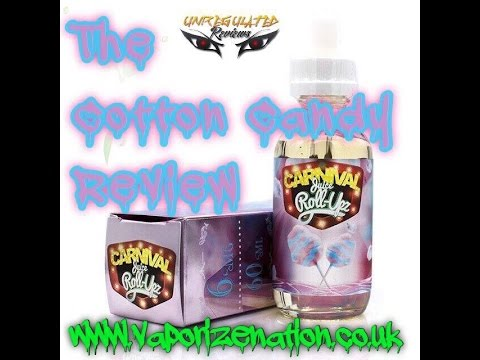 Cotton Candy from Juice Roll Upz Review