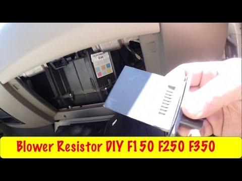 F150 Heater Fan Not Working Or 1 Speed Fix DIY