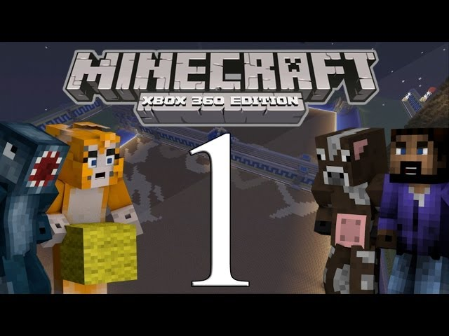 Minecraft Xbox - Quick Build 1 Hour Special - W/Stampylongnose - Part 1 Travel Video