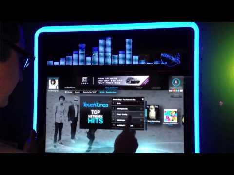 Touchscreen Smart Jukebox