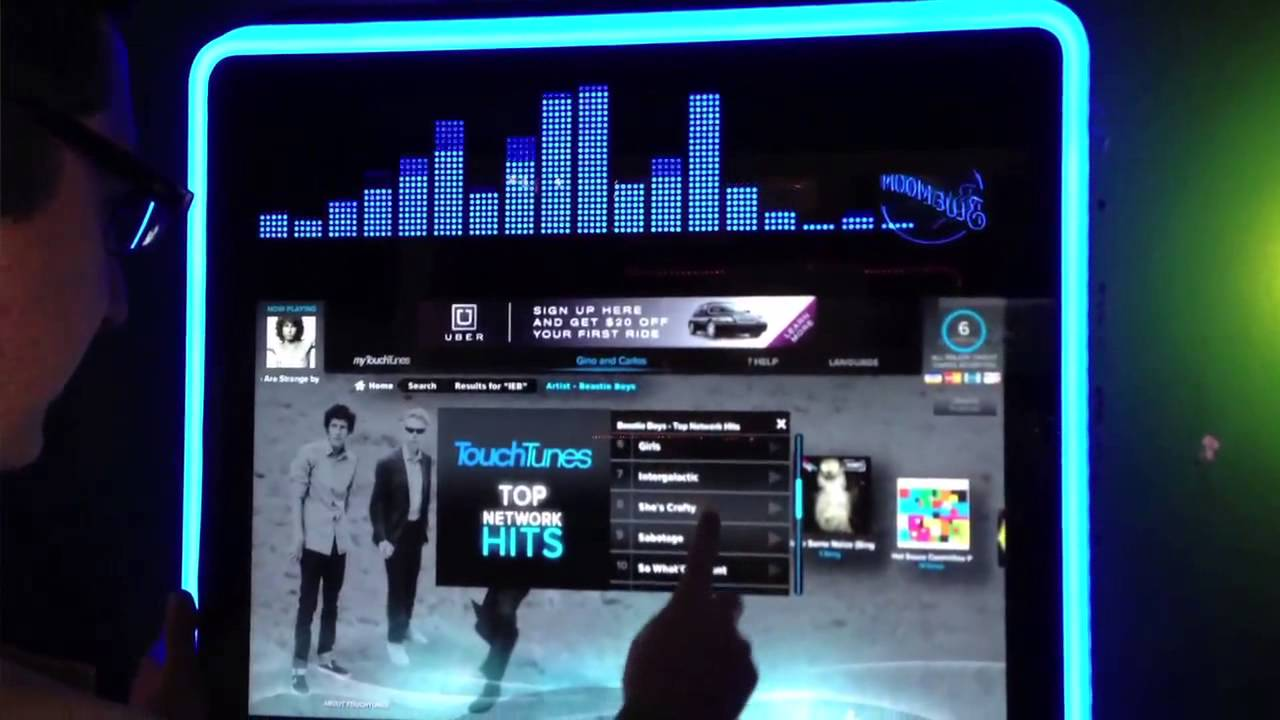 Touchscreen Smart Jukebox