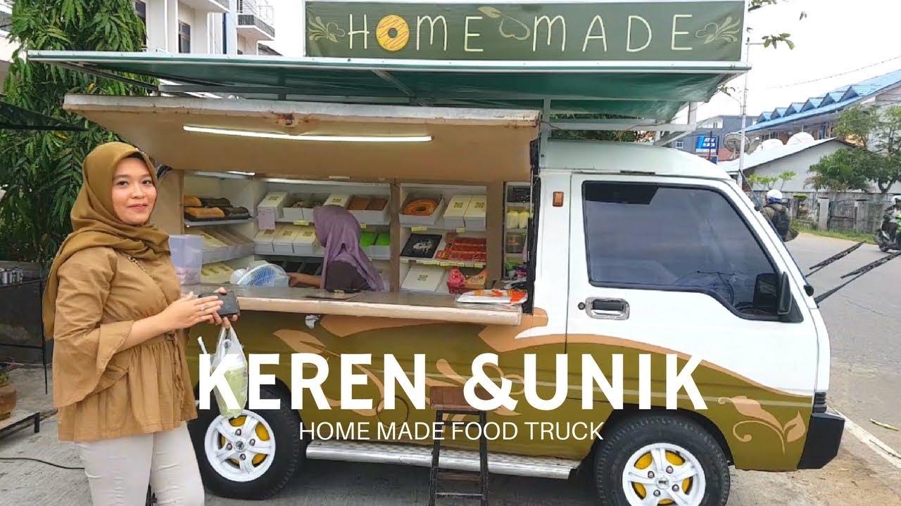 Unik Keren Jualan Cake Pake Mobil Home Made Foodtruck Pontianak Street Food Youtube