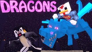 Minecraft | DRAGONCRAFT Mod Showcase! (5 ELEMENTAL DRAGONS, DRAGONS MOD)