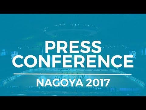 ISU JGP Final - Pairs Press Conference - Nagoya 2017