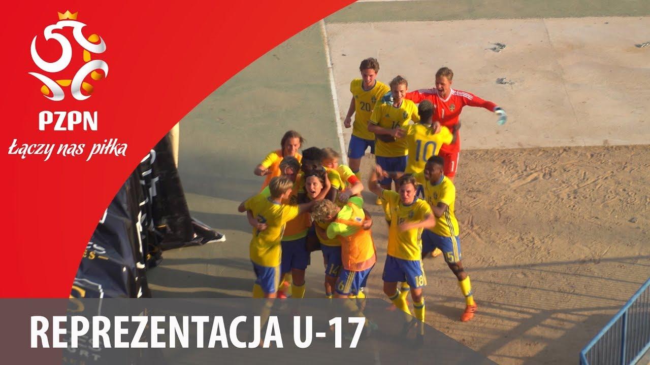 U-17: Bramki z meczu Szwecja – Polska