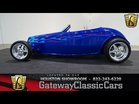 1933 Ford Speedstar Gateway Classic Cars #709 Houston Showroom