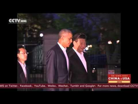 Three-hour-long Xi-Obama talk in Blair House