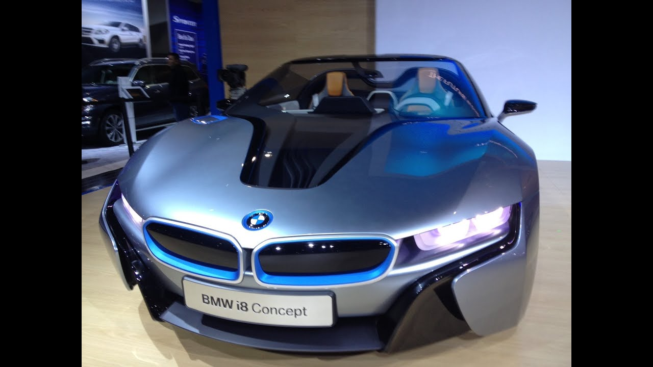 Bmw Reveals Its Future Designs With The I8 I3 Concepts Debut At