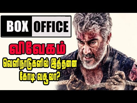 Second Week Vivegam Box Office Collection Reaches High   விவேகம் திரைப்படத்தின் இமாலய வசூல் சாதனை