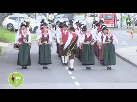 Musikverein Hilbern - Bezirksmusikfest Gaspoltshofen 2016