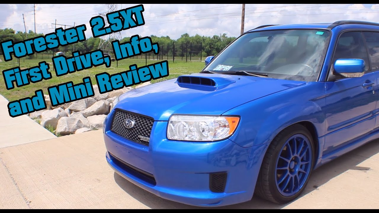Forester 2 5xt First Drive And Impressions Youtube