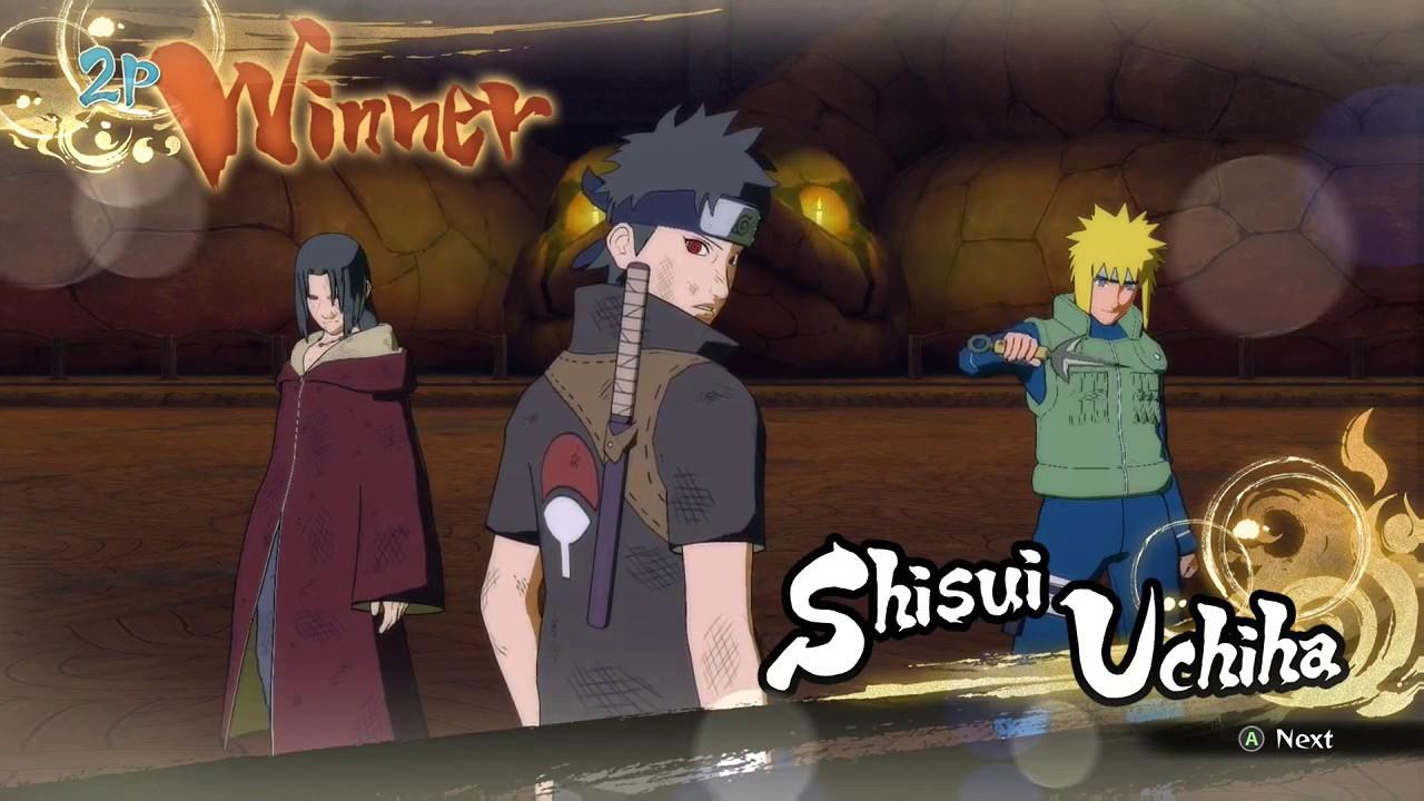 Naruto Shippuden Ultimate Ninja Storm 4 Salt /w Striker ...