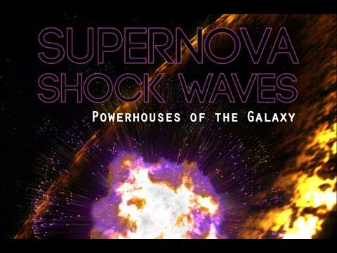 Public Lecture—Supernova Shock Waves: Powerhouses of the Galaxy