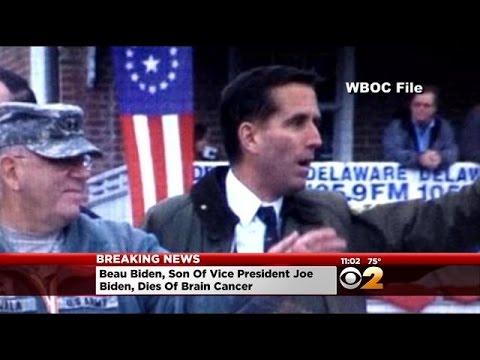 Biden Announces Death Of Son, Beau, Of Brain Cancer